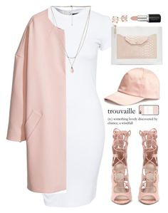 """""""#THINKPINK"""" by slayvage ❤ liked on Polyvore featuring SELECTED, Neiman Marcus, H&M, Casetify, Ippolita, Forever 21, women's clothing, women, female and woman"""