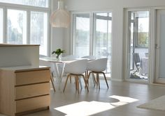 Scandinavian interior, dining room - Interior Design Luovisio.fi