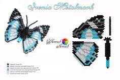 """Jízdy (korálků) - Řidičské motýlku """"Irenia Metalmark"""" - 23.07.2011 21:52 - uživatelské ArtBiser (artbiser) - ItsMyArt"""