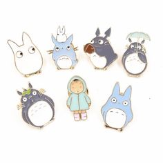 7 Totoro pins $4.57 from Ugly6