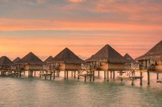 14 over-water bungalows to dream about at work (or eventually stay at!!!)