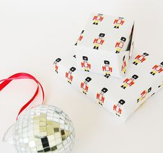 Nutcracker Wrapping Paper Printable