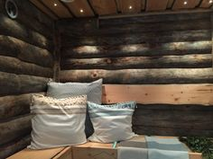 Outdoor Sauna, Saunas, Bed Pillows, Pillow Cases, Aqua, House, Inspiration, Pillows, Biblical Inspiration