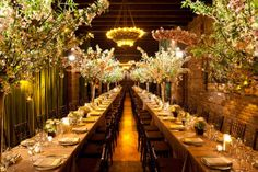 Stunning long tables