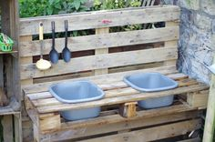 The mud kitchen