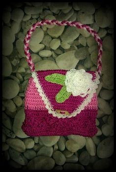 Háčkované kabelky / Inci - SAShE.sk - Handmade Detské tašky