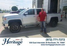 Congratulations to Lane Seaman on your #GMC #Sierra 1500 from Brad Tittle at Heritage Buick GMC! #NewCar