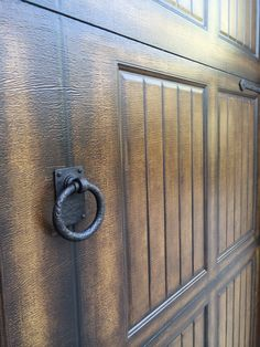 Large Decorative Ring Pull Hardware By Coastal Bronze 60 200 For Garage  Doors And Gates