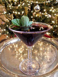 Meet Me At The Mist-letoe...Raspberry Vodka, Lime Juice, Blueberry Juice, Sierra Mist Natural