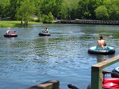 Beavers Bend State Park: Pedal Boat, Bumber Boats and Canoe Rentals. Also included Putt-Putt Golf
