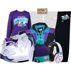 """""""Charlotte Hornets <333"""" by laelae on Polyvore"""