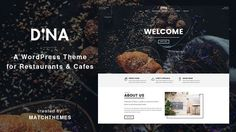 Check the new Home Style 4 with OpenTable reservation: see demo     Dina is a modern, clean and minimal restaurant WordPress theme. It's the best solution for cafes, restaurants, bars, pubs, ba...