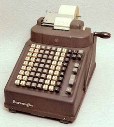 VINTAGE Adding Machines - my dad used one very much like this My Childhood Memories, Sweet Memories, Objets Antiques, I Remember When, My Memory, The Good Old Days, Alter, No Time For Me, Time 100