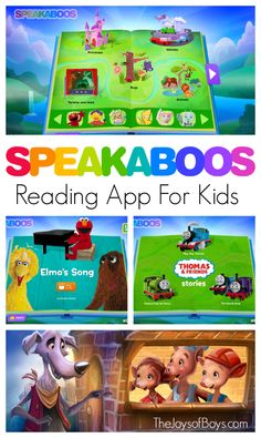 "My 4-year-old is learning so much from the @Speakaboos reading app! The stories are fun and interactive and he asks for his ""books"" every morning.  #choosereading AD"