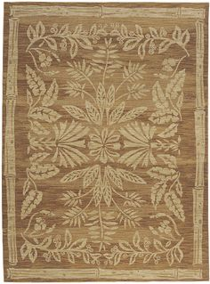 "Flooring: Area Rug in the Tommy Bahama Home Collection in style ""Island Batik"" color Spice - by Shaw Floors"