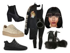 """""""I have  more shoe choices!!!!"""" by beautyqueen-927 ❤ liked on Polyvore featuring Wolford, River Island, MICHAEL Michael Kors, Alexander Wang and adidas"""