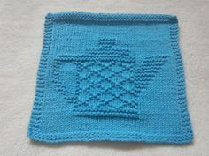 Teapot IV Dishcloth by bubweez2745645 | Knitting Pattern - Looking for your next project? You're going to love Teapot IV Dishcloth by designer bubweez2745645. - via @Craftsy