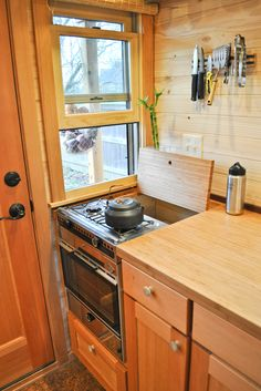 Best Tiny House Kitchen and Small Kitchen Design Ideas Tiny House Appliances, House Guide, Tiny House Kitchen, Small Spaces, House, Home Kitchens, Kitchen, House And Home Magazine, Tiny Kitchen