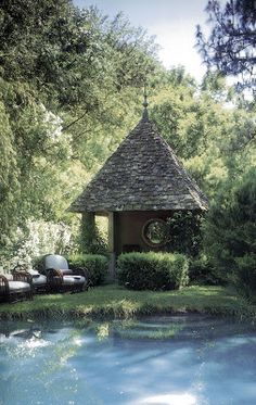 rose tarlow pool and pool house AESTHETICALLY THINKING