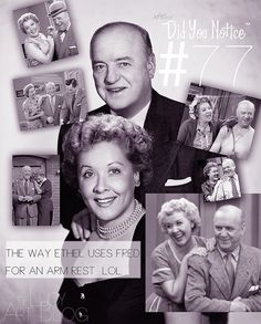 Ethel and Fred Mertz.the best neighbors anyone could have! I Love Lucy Show, My Love, William Frawley, Vivian Vance, Lucille Ball Desi Arnaz, Lucy And Ricky, Life Touch, Comedy Duos, Vintage Classics