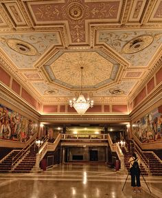 The beautiful State Theatre in Cleveland, the 2nd largest theater district in the nation