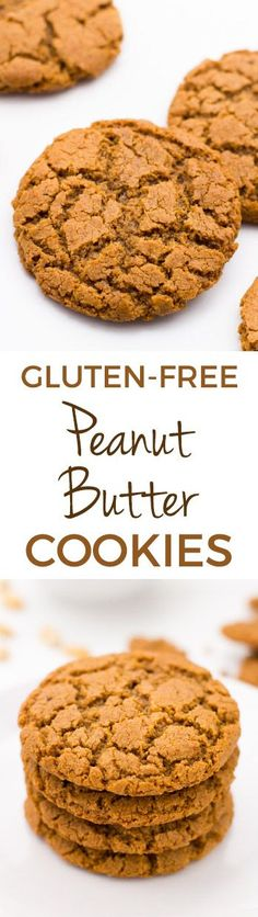 These delicious gluten-free peanut butter cookies are flourless, super easy to make, and require just a few ingredients and minutes to make! They're also naturally grain-free and dairy-free. With a how-to recipe video.