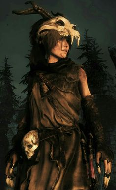 f Druid Leather forest hills night Lara Croft in Baba Yaga Video Game Characters, Fantasy Characters, Female Characters, Tomb Raider Lara Croft, Tomb Raider Cosplay, Baba Yaga, Character Inspiration, Character Art, Character Design