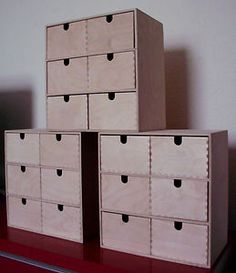 Ikea 1 Mini Chest Of Drawers Wooden Storage Box Project