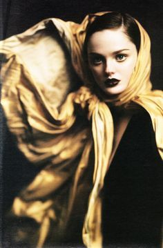 So what if with guile she strove to color Everything she gave with herself ~ Robert Pinsky Jean Paul Gaultier Fall 2004