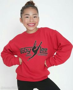 Added by #hahah0ll13 Abby Lee Dance Company Apparel modeled by ALDC mini #AreanaLopez