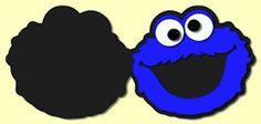 Cookie Monster Card  FREE SVG   #scrapbooking #cards #svg