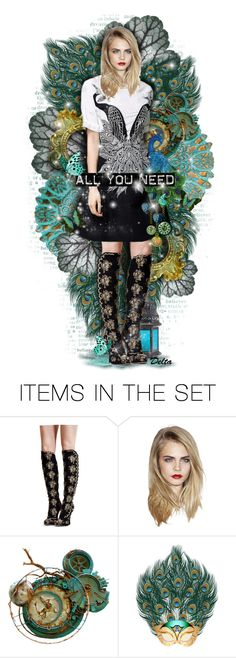 """""""Hits You When It´s Too Late"""" by delta ❤ liked on Polyvore featuring art and peacock"""