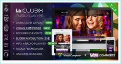 24 Best WordPress Themes For Musicians, DJs, Events or Nightlife