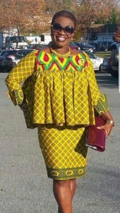 Dearest Lovebirds, What a way to style yourselves with Kente combined with Velvet? Have you seen people dress gorgeously with Kente and Velvet? Trust us, we know what makes you look cute. African Dresses For Women, African Print Dresses, African Print Fashion, Africa Fashion, African Attire, African Fashion Dresses, African Wear, African Women, Ankara Stil