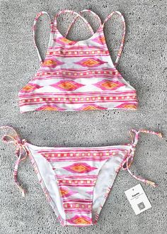 Hot sale-only $19.99! It's chic and perfect tank bikini for a relaxed spring break with friends on the beach.Follow your heart with it at Cupshe.com