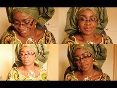 How I tie my gele/ichafu/head scarf