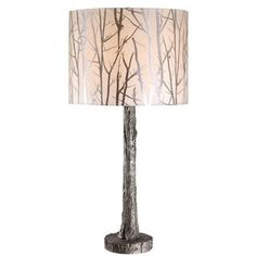 Silver Wolf Branch Design Table Lamp | Overstock.com Shopping - The Best Deals…
