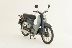 Photographic Print: 1964 Honda C50 scooter : 12x8in