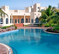 Hilton Salalah Resort: Guests can relax by the Hilton Salalah Resort's freeform pool overlooking the white-sandy beach, browse the shopping arcade, work out in the gym or unwind in six restaurants and bars at this Salalah hotel.