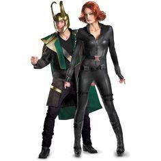 Avengers Loki & Black Widow Couples Costume Superhero Couples Costumes, Halloween Cosplay, Black Widow, Holidays And Events, Loki, Avengers, Punk, Photography, Style