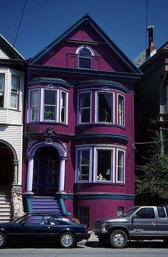 Purple House by Sam Spade's San Francisco, via Flickr