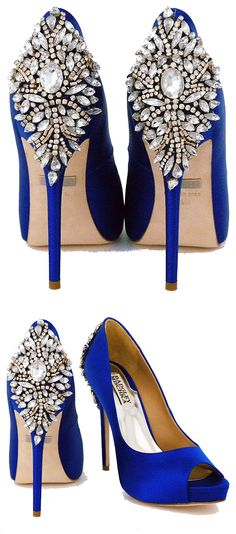 Brilliant Luxury by Emmy DE * Badgley Mischka Kiara Sapphire