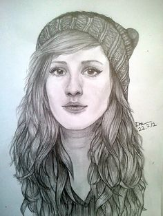 how to draw ellie goulding - Google Search