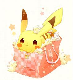 Tags: Fanart, Pokémon, Nintendo, Pixiv, Pikachu, GAME FREAK, PNG Conversion, Fanart From Pixiv, Happy 2015, Pixiv Id 6275742
