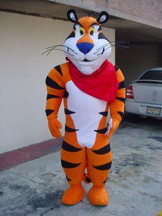 Querido Tigre Tigre Toño creci grandototote y fuertotote... Gracias por hacer de mi desayuno un momento familiar con los mejores recuerdos. #Botarga de #Tigre Toño embajador de #Kelloggs HACEMOS TU BOTARGA CON UN DISEÑO PERSONALIZADO #venta