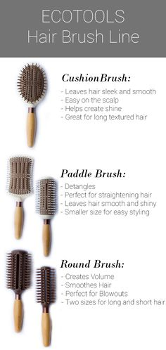 EcoTools Hair Brush Review via Style Maeve