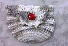 Porta Moedas em crochê confeccionado com Barbante Duna. www.bellezasul.blogspot.com.br