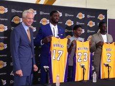 Hibbert, Williams, Bass eager for fresh starts with Lakers