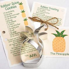 PINEAPPLE COOKIE Cutter Housewarming Party by ThePartyFairy, $4.75