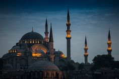 The Blue Mosque by Scott Spain on 500px